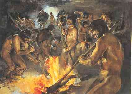 paleolithic age fire - photo #2