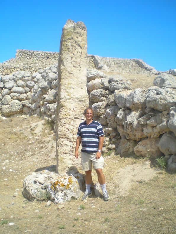 The Sardinian Prehistoric Altar of Monte D'Accoddi, older that the Egyptian pyramids and the Middle Eastern ziggurat, may as well represent native European diversity.